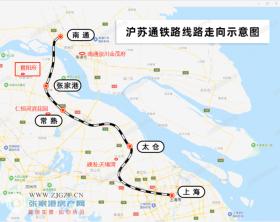 7.1日高铁通车后,沪苏通隐贵的置业新选择
