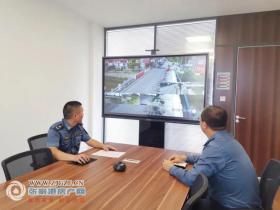 我市首个农村公路桥梁病害监控平台在乐余镇建成