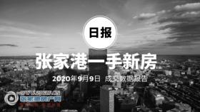 2020年9月9日��家港新房成交�����75套 �Z����庭(中�E世界城)成交38套,位居第一