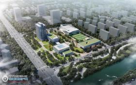 总建筑面积约6.6万平方米,总投资约5.5亿元,张家港研究与交流中心暨城西文体广场正式开工建设啦!