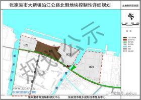 用地面积约87.91公顷,张家港市大新镇沿江公路北侧地块最新规划公示来了