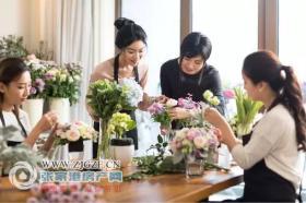 金厦・阳光春晓 女神节艺术插花DIY体验活动,芳香来袭!