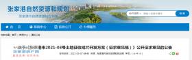 《张家港市2021-03号土地征收成片开发方案(征求意见稿)》公开征求意见的公告来了!