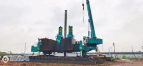 7月1日,张家港高铁新城塘桥镇韩山花苑四期安置房项目3392根桩基工程全部施工完成