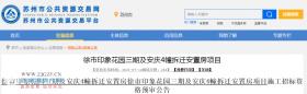 65815万元!关于徐市印象花园三期及安庆4幢拆迁安置房项目最新进展情况来了!