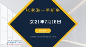 2021年7月18日张家港新房成交数据总计13套,云樾兰庭成交3套,位居第一!