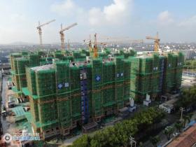 总用地面积31885.02平方米!可安置群众516户!普坤二毛安置房项目主体工程全部封顶