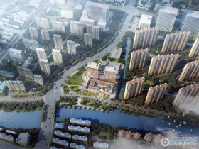 张家港美邻广场楼盘外景图