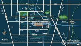 新城和樾交通位置图