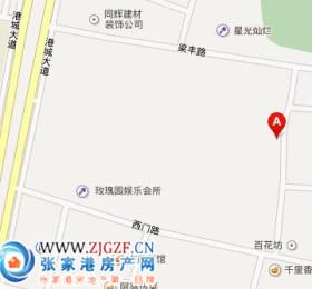 西门新村交通位置图