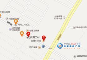 锦丰向阳二村交通位置图